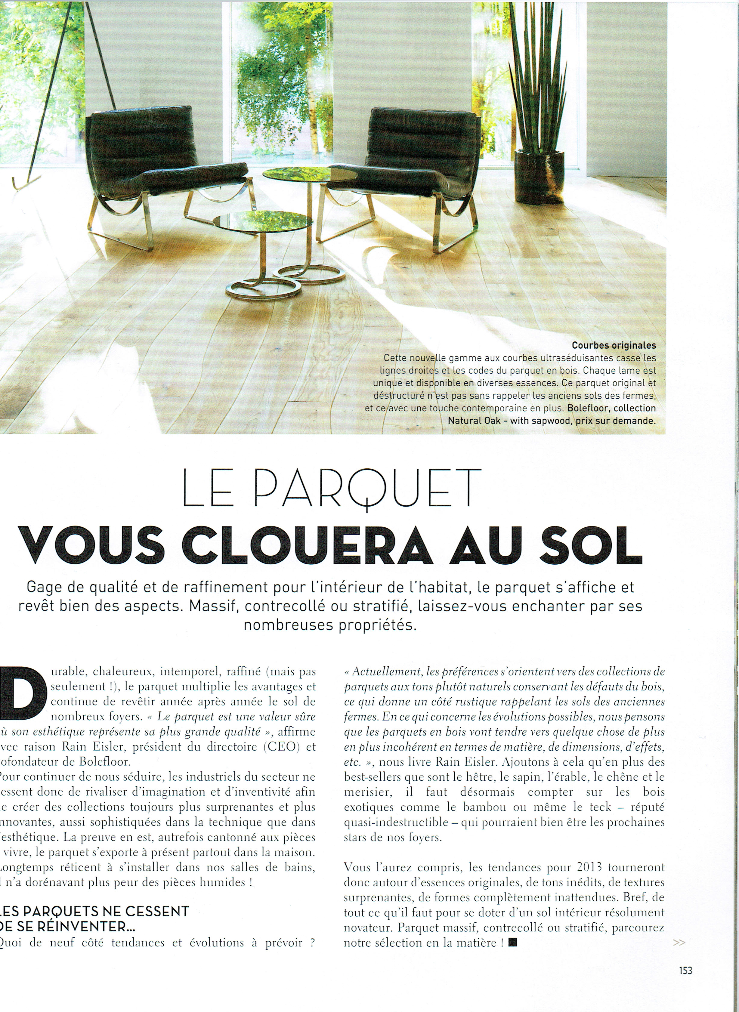 Home Magazine, February/March 2013, France